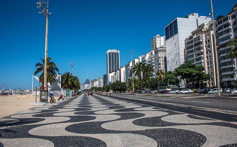 Piso para calçada copacabana
