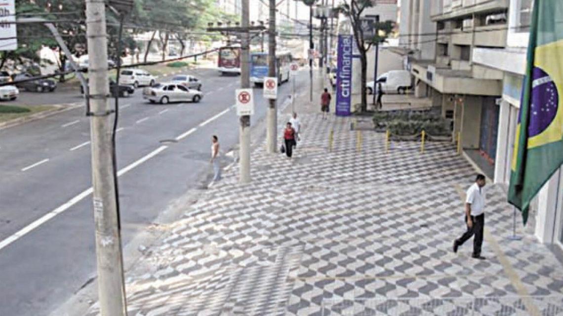 Calçada de SP